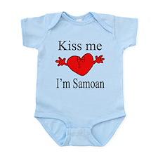 Kiss Me I'm Samoan Infant Bodysuit