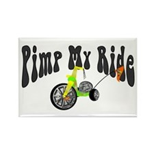 Pimp My Ride Rectangle Magnet