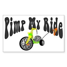 Pimp My Ride Rectangle Decal