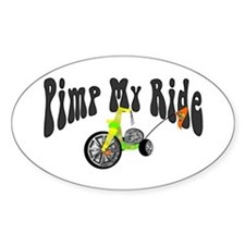 Pimp My Ride Oval Decal