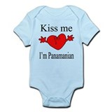 Kiss Me I'm Panamanian Infant Bodysuit