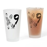 K9 handler Pint Glasses