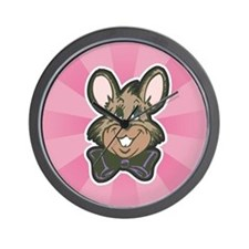 Retro Vingtage Easter Bunny Wall Clock