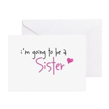 I'm going to be a Sister Greeting Cards (Package o