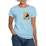Red Bald West Women's Light T-Shirt