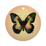 Luminous Butterfly Ornament (Round)