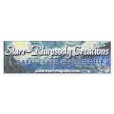 Starr-Rhapsody Creations Bumper Bumper Sticker