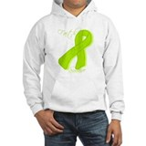 Lymes Disease/Lymphoma Awareness Hoodie