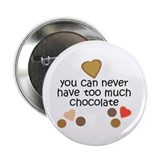 Chocolate Lover Button