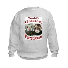 World's Greatest Ferret Mom Sweatshirt