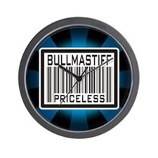 Bullmastiff - Priceless Wall Clock