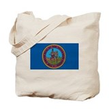 Chickasaw Flag Tote Bag