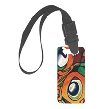 mayan eyes iphnew Luggage Tag