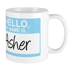 HelloMyNameIs...Asher Coffee Mug