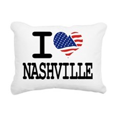 I LOVE NASHVILLE Rectangular Canvas Pillow