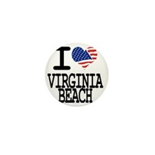 I LOVE VIRGINIA BEACH Mini Button