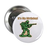 Green Army Men Birthday Button