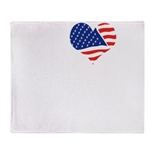 I LOVE FLORIDA - WHITE Throw Blanket