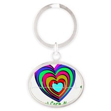 CC nurse 1 Oval Keychain