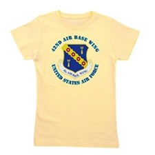42nd-Airbase-Wing-with-Text Girl's Tee