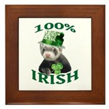 100% Irish Framed Tile