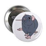 Russian Blue Rat Button