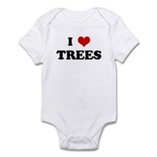 I Love TREES Infant Bodysuit