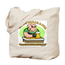 Hogs Grille & Pub Tote Bag