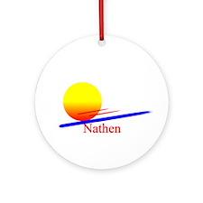 Nathen Ornament (Round)