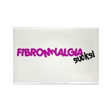 Fibromyalgia Rectangle Magnet (100 pack)