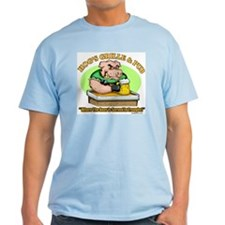 Hogs Grille & Pub Ash Grey T-Shirt