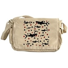 shark.png Messenger Bag