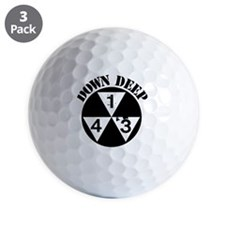 143 Down Deep Golf Ball