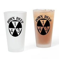 143 Down Deep Drinking Glass