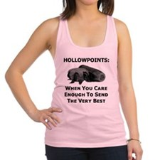 Art_Hollowpoints_When You Care  Racerback Tank Top