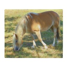 Haflinger Beauty Throw Blanket