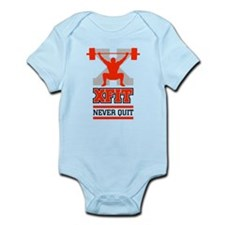 crossfit cross fit champion lifter light Body Suit