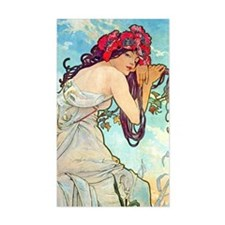 J Mucha Spring Decal