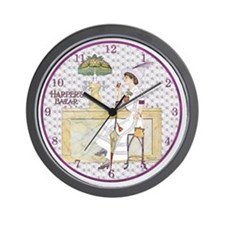 MOD CLOCK-SANDBERG-CokeTiffanyFount Wall Clock