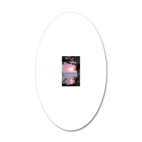 LkSup2.28x4.57 20x12 Oval Wall Decal
