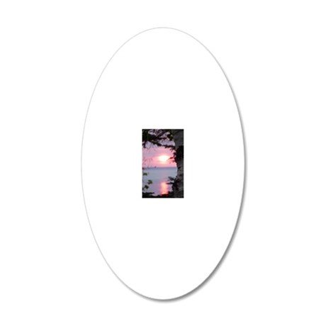 LkSup2.2x4.56 20x12 Oval Wall Decal