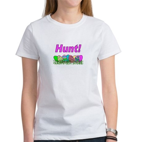Hunt Easter Eggs Women's T-Shirt