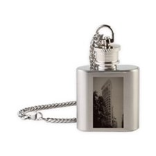 V Flatiron itouch4 Flask Necklace