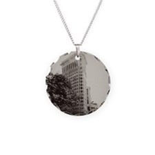 V Flatiron square Necklace