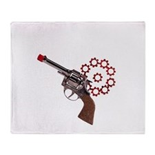 i shoot blanks-2 Throw Blanket