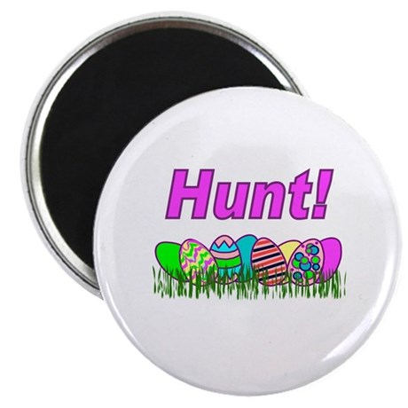 Hunt Easter Eggs Magnet