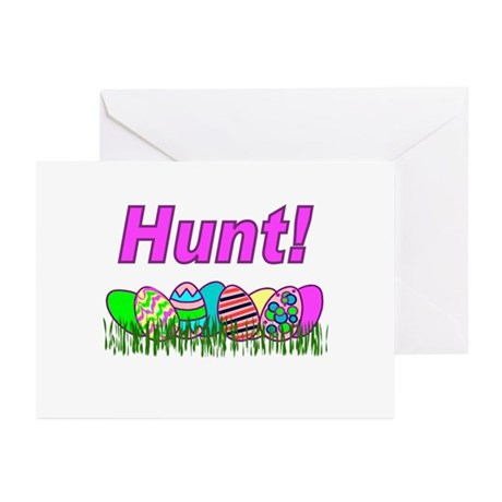 Hunt Easter Eggs Greeting Cards (Pk of 10)