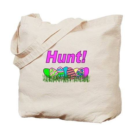 Hunt Easter Eggs Tote Bag