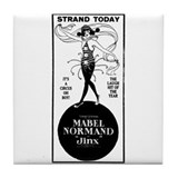 Mabel Normand Jinx Tile Coaster
