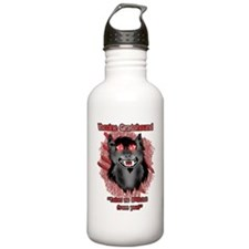 Vaccine-t-shirt Water Bottle